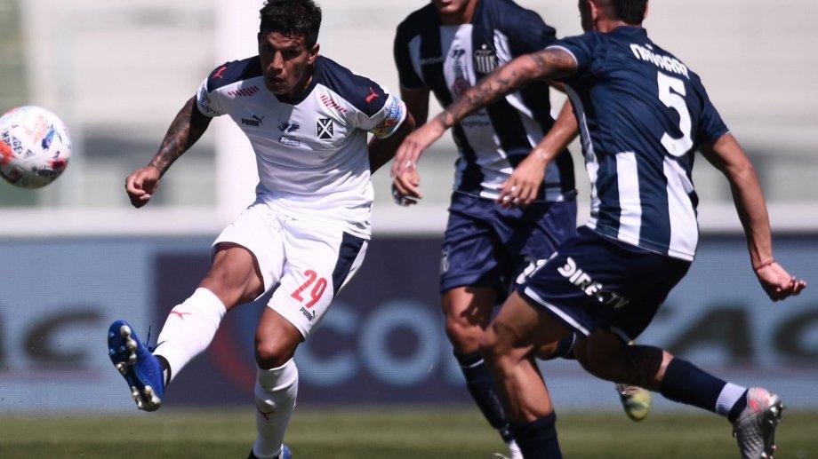 Lucas Romero jugó para Independiente el sábado pasado ante Talleres, en Córdoba.