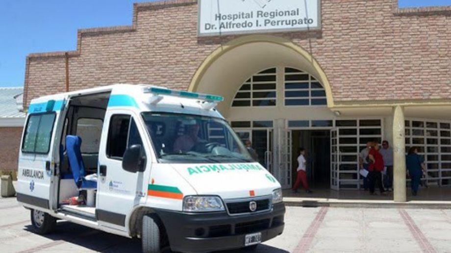 El hospital donde llevaron a la niña pero no pudieron reanimarla.
