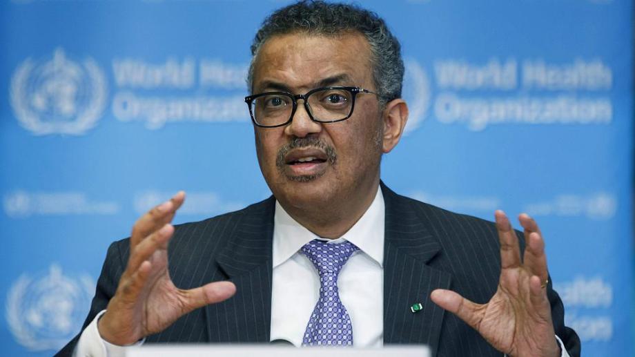 La advertencia la realizó hoy el director general de la Organización Mundial de la Salud (OMS), Tedros Adhanom Ghebreyesus.