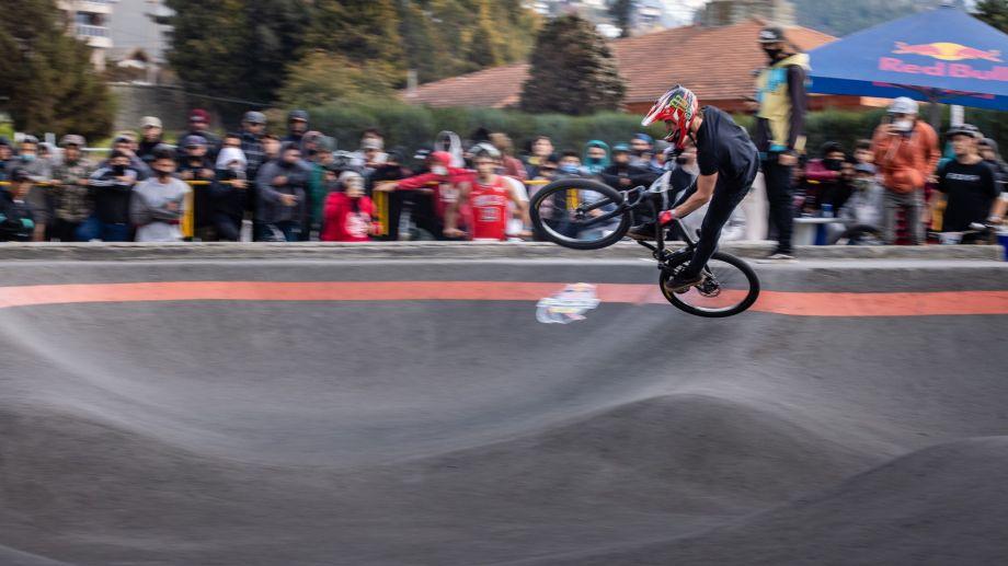 Jerónimo Paisa ganó la clasificatoria y llegará al mundial de Pump Track en Austria. Foto: Gentileza