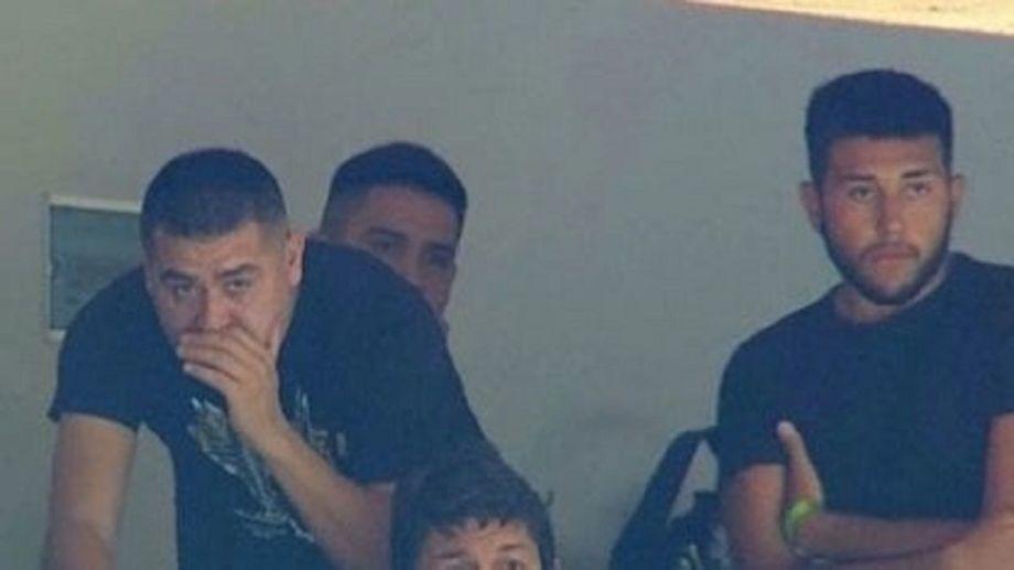 Riquelme junto con su hijo, quien había llegado del exterior 48 horas antes y no cumplió los 7 días de aislamiento obligatorio.