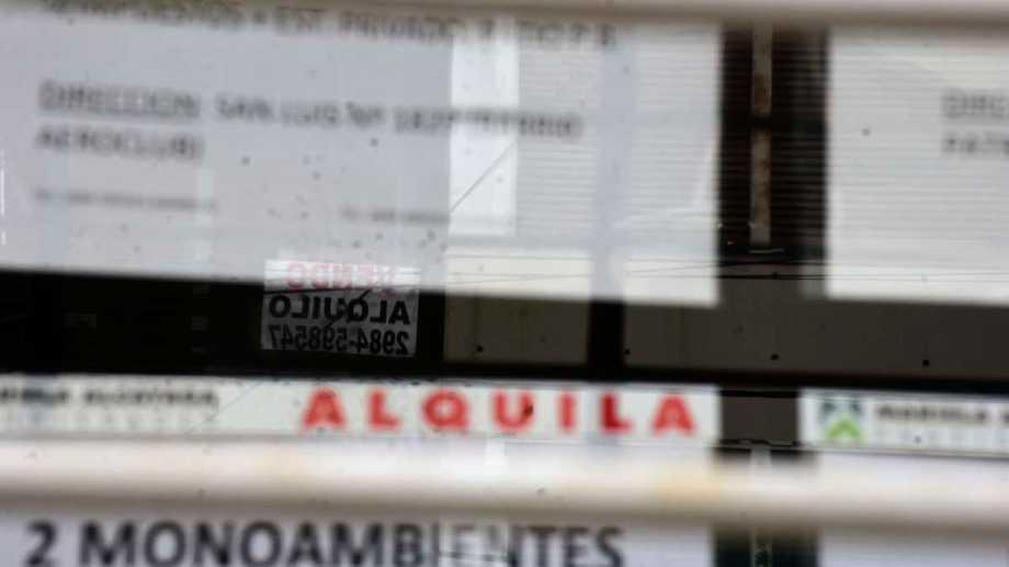 Desde la Asociación de Inquilinos de Neuquén aseguran que hay cientos de inquilinos en problemas. Foto: archivo
