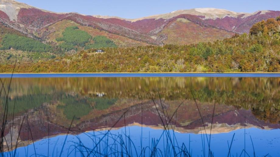 Un espectáculo natural: la laguna Pudú Pudú a 35 km de San Martín de los Andes y a 1.500 metros de la Ruta 40. Foto: Patricio Rodríguez.