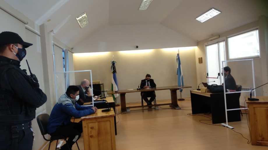 La audiencia judicial se llevó a cabo ayer por la tarde. Foto: gentileza