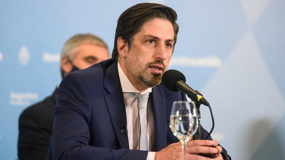 El ministro de Educación Nicolás Trotta. Foto: Archivo.