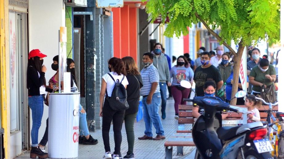 La capital rionegrina registró 14 casos nuevos durante el fin de semana. Foto: Marcelo Ochoa.