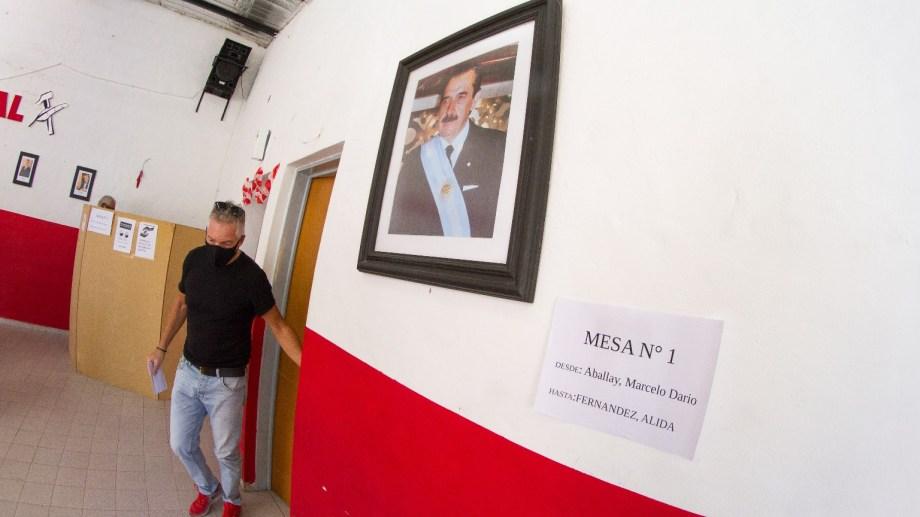 Los números finales de la Junta Electoral todavía no están, pero se estimó entre un 17% a 19% de asistencia. Foto: Pablo Leguizamón.