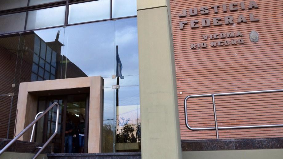 viedma - 30/09/14procesan a detenidos con drogafoto marcelo ochoa