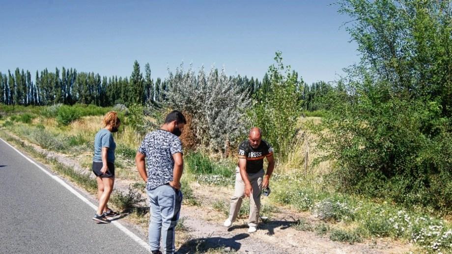 La familia de Fuentes está angustiada y reclama justicia. Foto Juan Thomes.