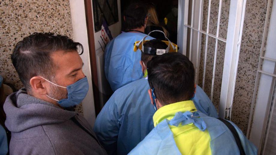 El lugar funcionaba en Quilmes, y fue allanado tras denuncias por maltratos. Foto: Carlos Brigo para Télam.-