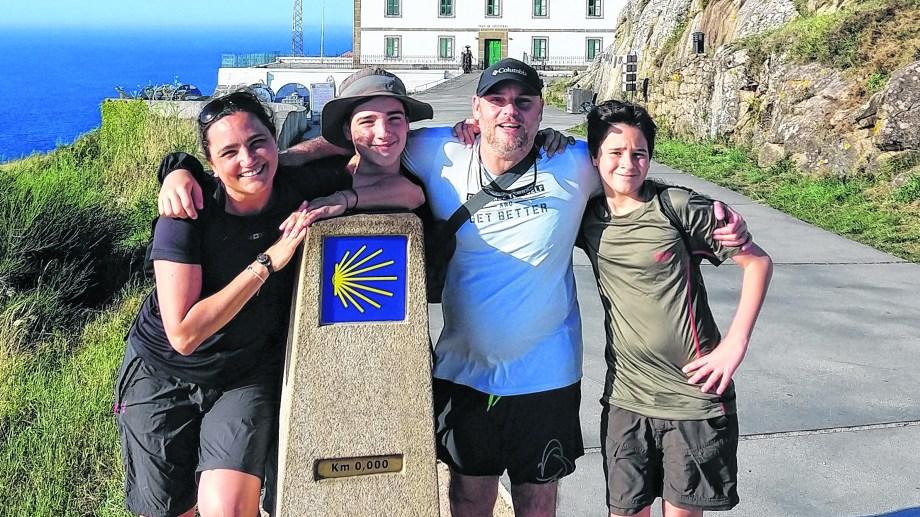 Llegar los cuatro juntos fue el mejor premio después de seis días de esfuerzo.