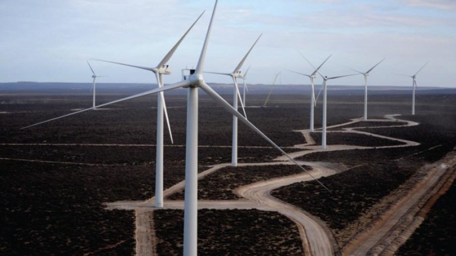 Los parques eólicos fueron los principales responsables de la marca histórica que se alcanzó el lunes 24 de mayo. (Foto: gentileza)