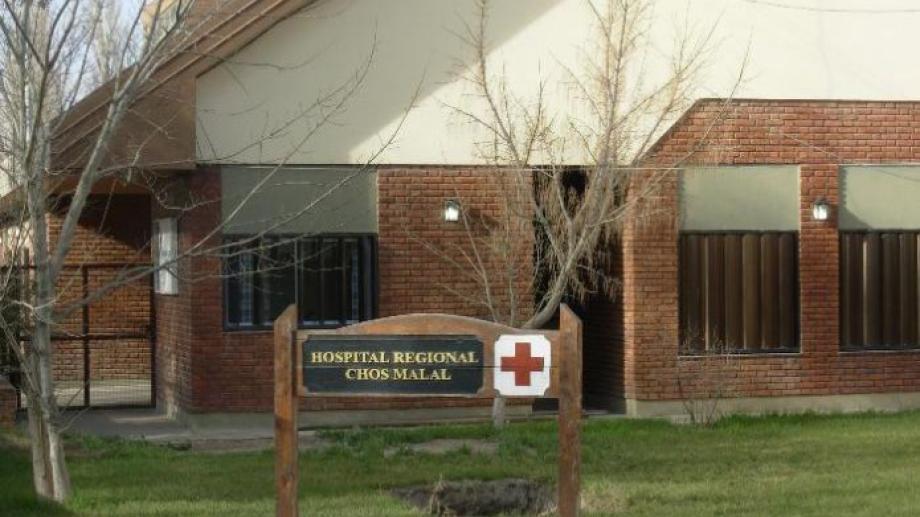 El Hospital de Chos Malal. Foto: Archivo.