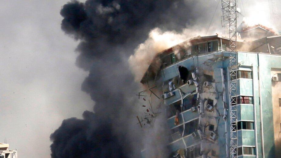 Los ataques en la Franja de Gaza no cesan. Hoy Hamas volvió a atacar a Israel. (Foto:AP)