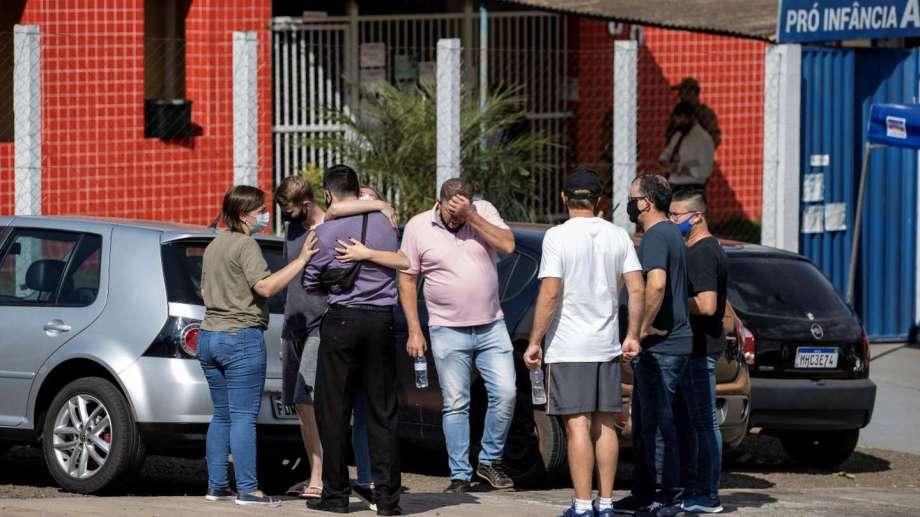La tragedia conmocionó a la pequeña localidad de Saudades.