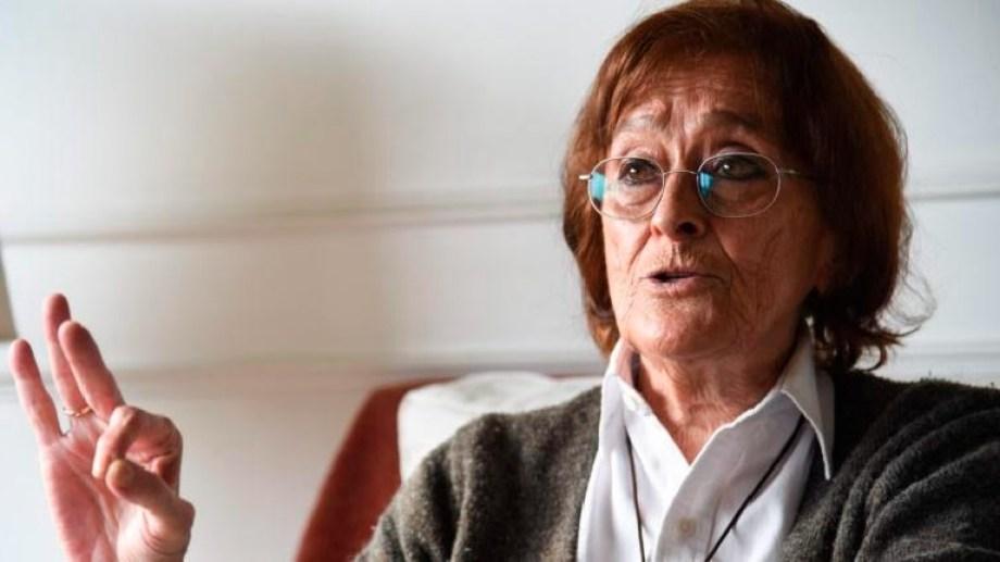 La socióloga, de 80 años, tenía una vasta carrera en su ámbito.-