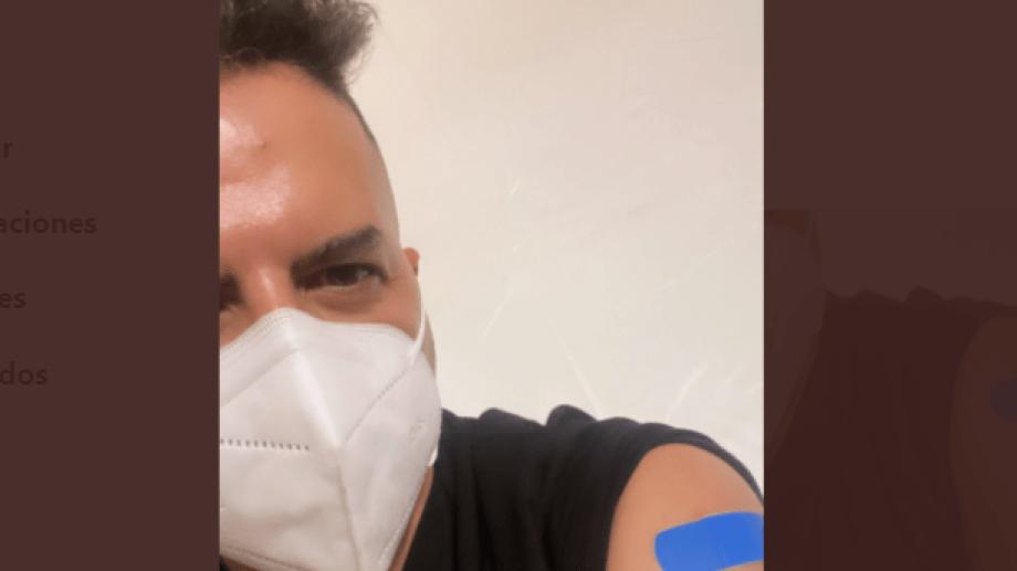 De Brito se vacunó en Miami.