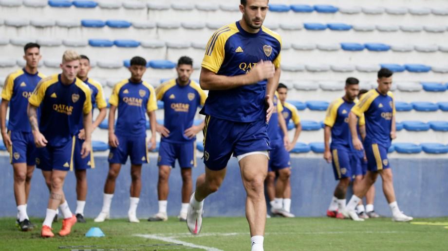 Carlos Izquierdoz es uno de los pocos que repetirá respecto del equipo que ganó el domingo con gol de él.
