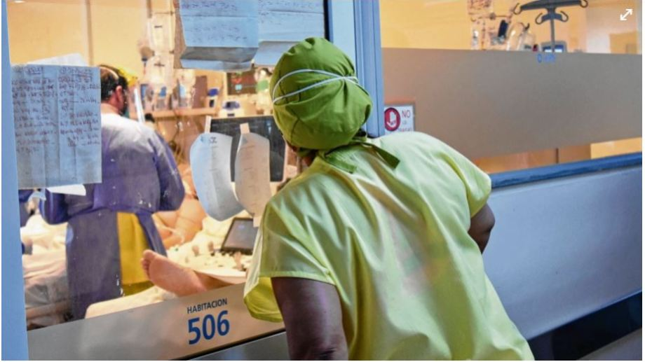 El lunes pasado se produjo el mayor pico de nuevos pacientes infectados desde enero, con 630 diagnosticados con covid en un día. (FOTO: Florencia Salto)