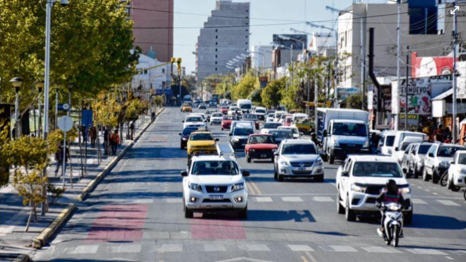 La circulación podría verse afectada si se aplican restricciones de acuerdo al proyecto nacional (Florencia Salto)