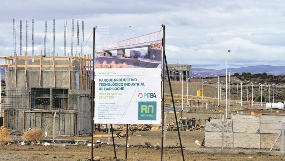 El parque productivo y tecnológico donde invertirá Invap está sobre la Circunvalación de Bariloche. Foto: Alfredo Leiva
