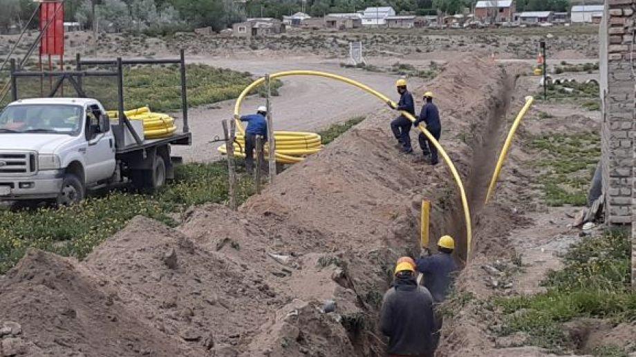 La obra demandó una inversión superior a los $ 8 millones y fue financiada por el municipio de Jacobacci y el gobierno provincial. Foto: José Mellado.