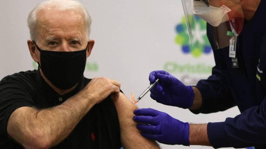 Biden quiere posicionarse como el principal líder mundial en la lucha contra el coronavirus.