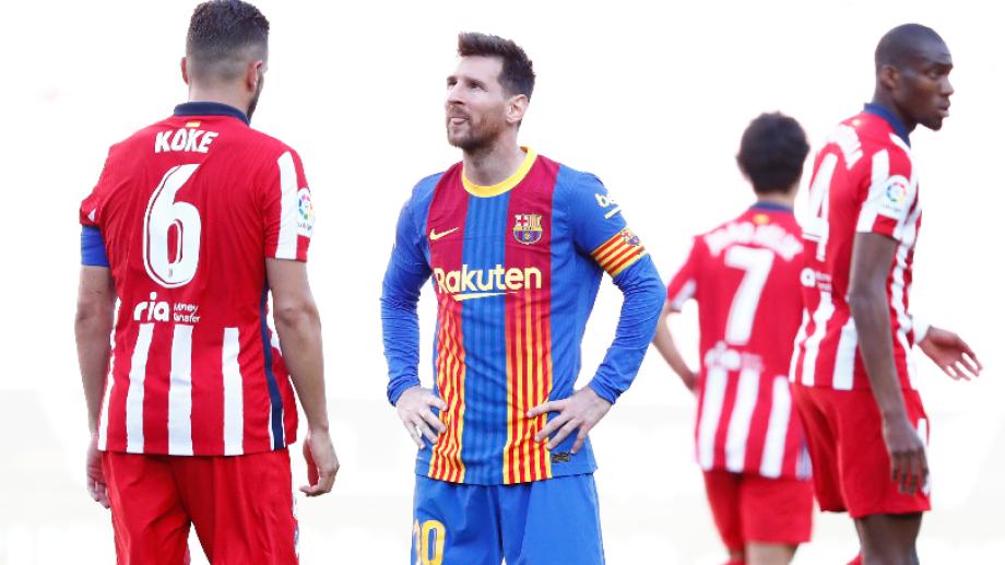 Empate con sabor a poco para Messi. Foto: AP