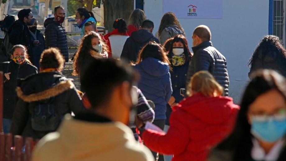 El jueves y viernes de 9 a 13 y 15 a 18 se realizará el empadronamiento de personas entre 18 a 59 años. Foto Juan Thomes.