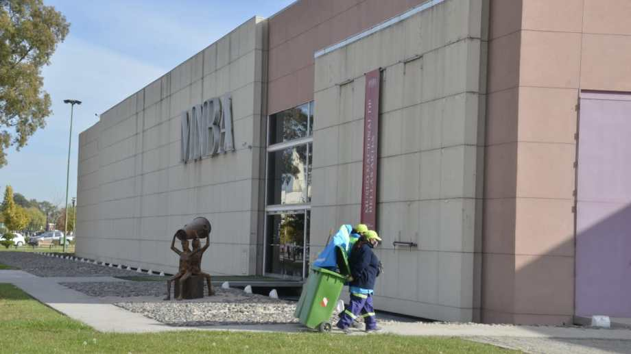 El Museo Nacional de Bellas Artes en Neuquén está cerrado desde enero de 2020 (Foto Yamil Regules)
