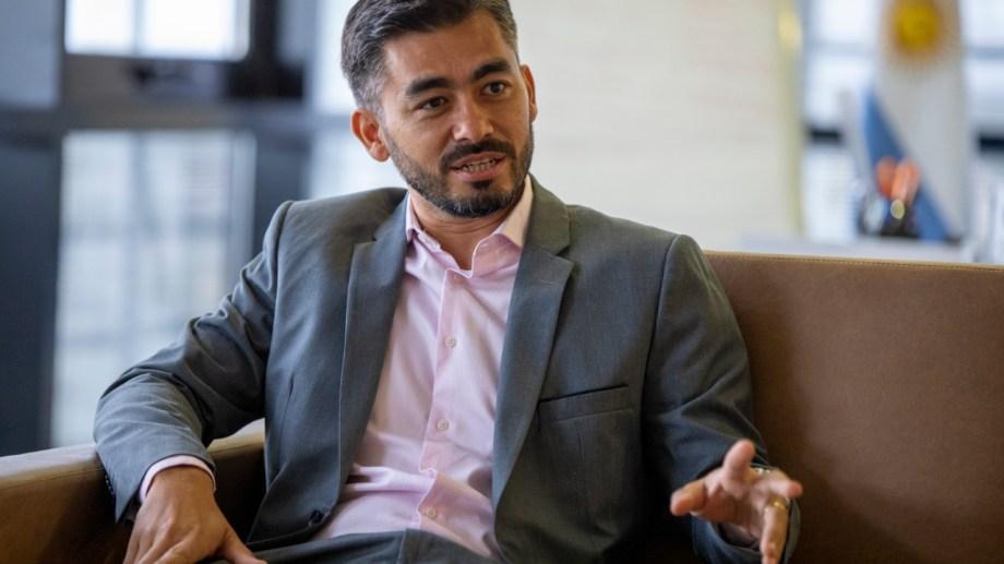 Alejandro Visentín es el presidente del Banco Provincia de Neuquén (BPN).