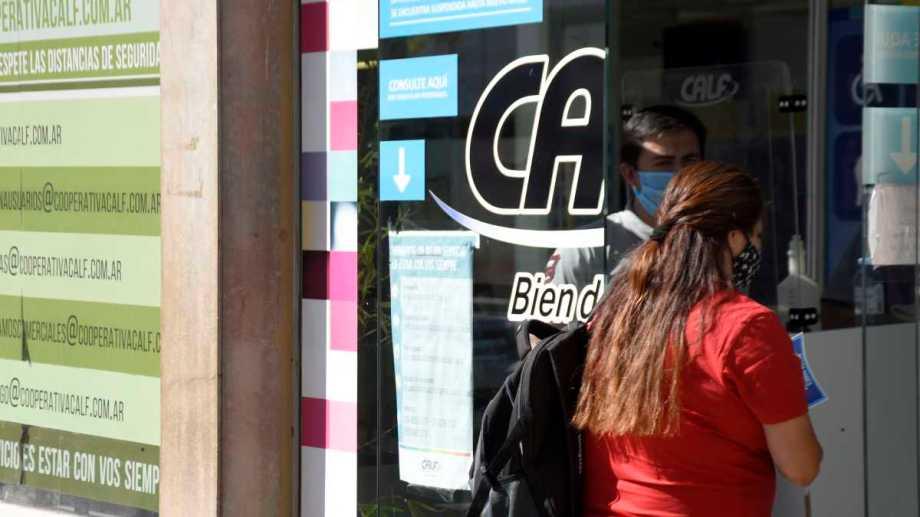 CALF sin atención al público hasta fines de mayo. Los que tengan turnos  programados serán contactados.  Foto: Florencia Salto