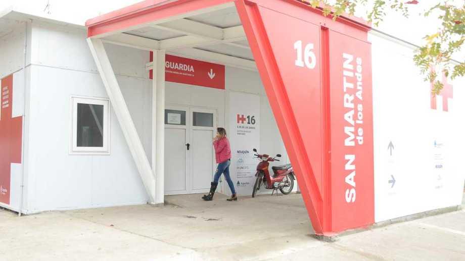 El Detectar de San Martín de los Andes funcionará en el hospital modular. (archivo Patricio Rodríguez).