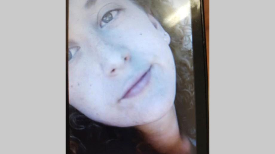 Agostina tiene 22 años y vive en Cipolletti. Foto: Facebook @MPRioNegro