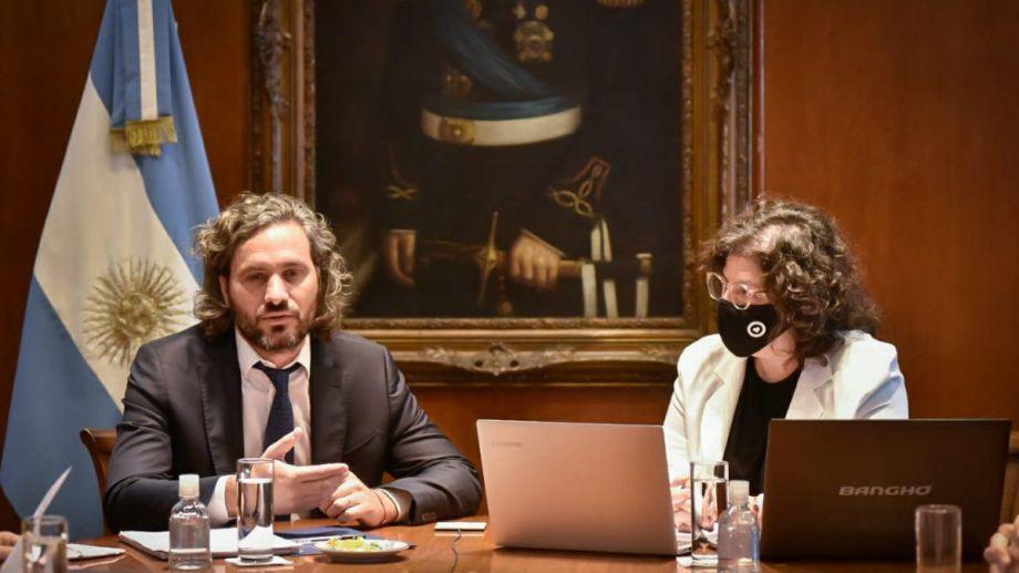 Cafiero y Vizzotti mantienen reuniones en Casa Rosada antes de que se defina el DNU.