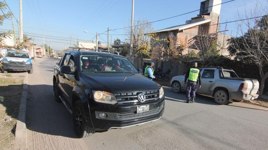 El gobierno provincial asegura que se incrementaron los controles policiales. (Oscar Livera)