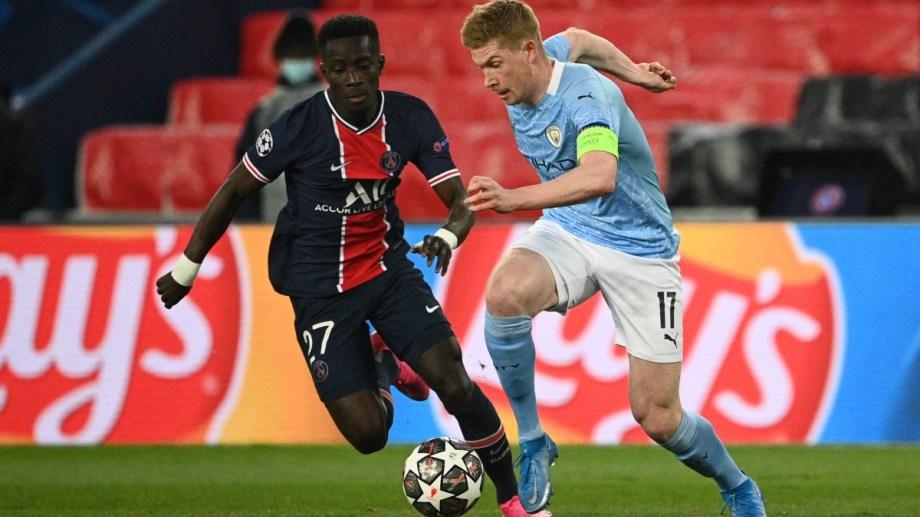 Manchester City-PSG por Champions League es el plato fuerte del día.