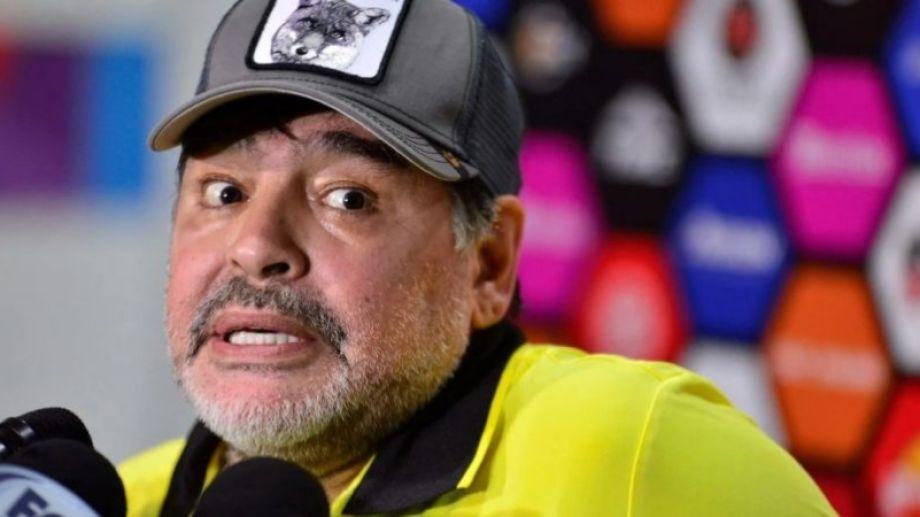 Maradona murió el pasado 25 de noviembre, tras descompensarse por una insuficiencia cardíaca.-