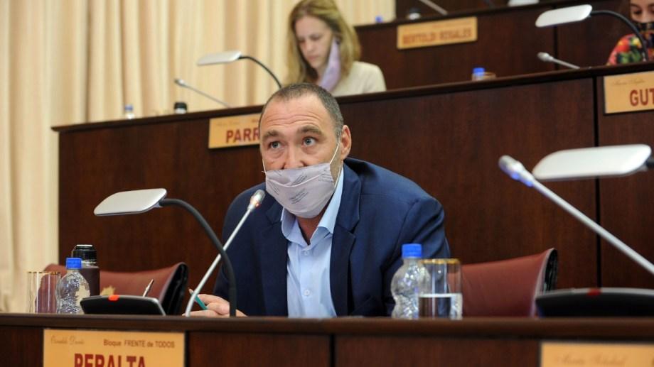 El diputado del Frente de Todos Darío Peralta quiere saber si se hacen gestiones. (Prensa Frente de Todos)