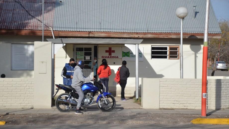Piden que el hospital de Chichinales vuelva a contar con salas de internación. (Foto Néstor Salas)