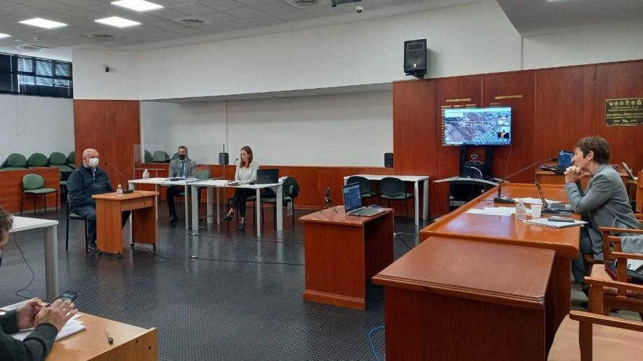 Las audiencias se desarrolllaron en el auditorium encabezadas por la jueza Daniela Zágari. Foto: gentileza.