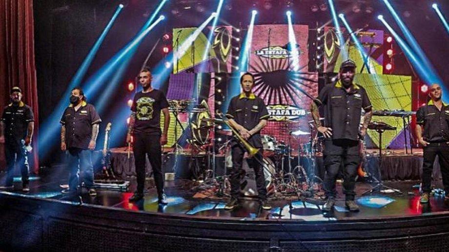 La banda de Neuquén, La Estafa Dub competirá en los Premios Gardel. (Gentileza)