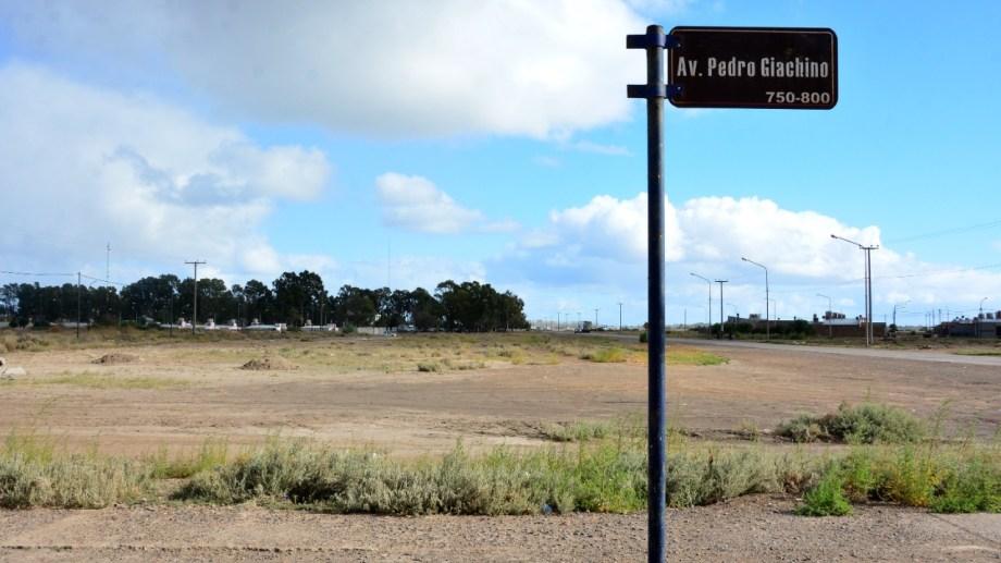 Los nuevos terrenos están ubicados en el acceso al barrio Lavalle. Fotos: Marcelo Ochoa.