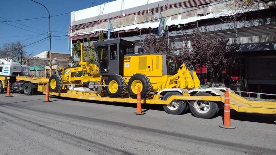 Parte de los equipos comprados por el municipio de Regina fueron presentados esta semana. (Foto Néstor Salas)