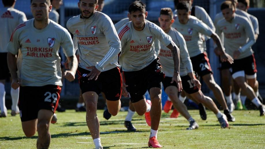 El plantel Millonario fue citado a entrenar mañana en el River Camp.