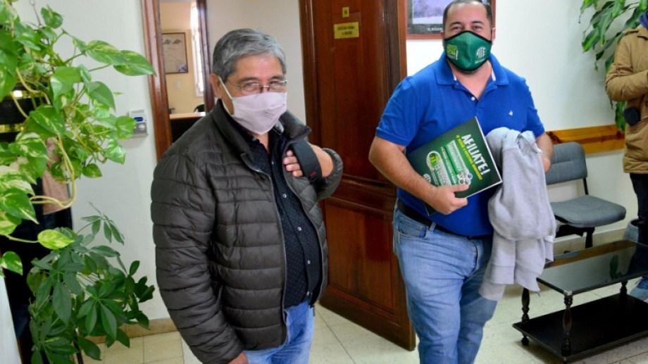 Los dirigentes de UPCN y ATE buscarán achicar la brecha entre salarios e inflación.  Foto: Marcelo Ochoa