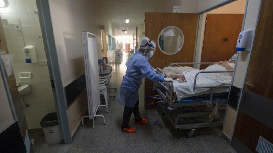 La terapia del hospital Zatti de Viedma se encuentra trabajando a su máxima capacidad.