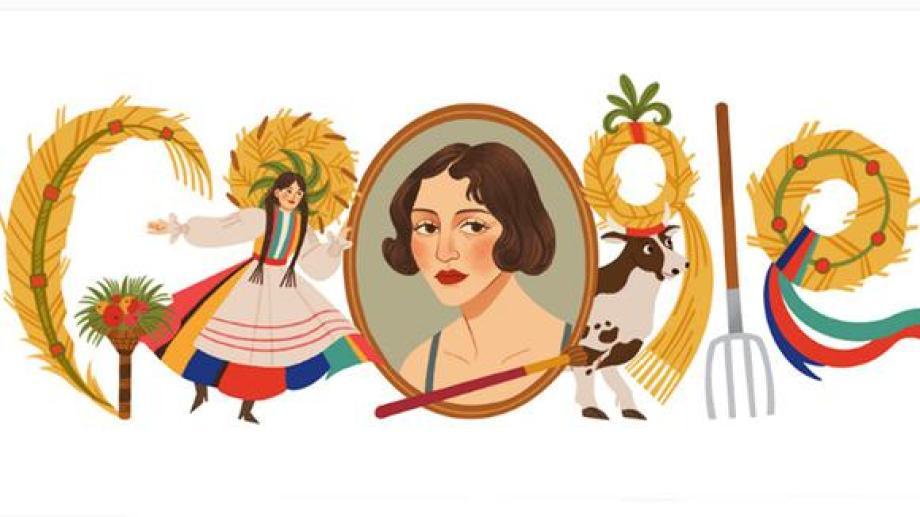 Zofia Stryjeńska, expresó el amor por su identidad en trabajos que iban desde piezas de ajedrez de madera hasta trajes de ballet. (Foto: Google)