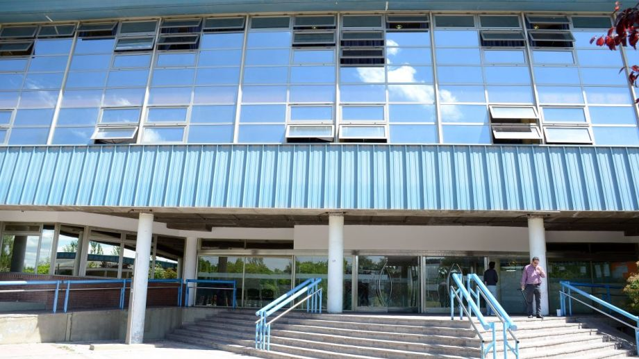 La sede del Consejo Provincial de Educación. Foto: Mauro Pérez