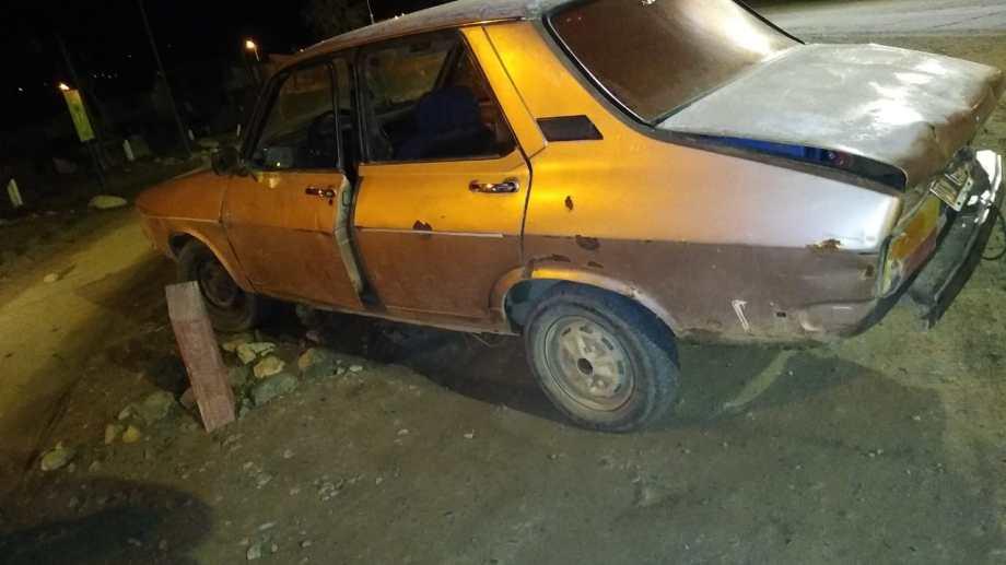 El joven de 16 años se trasladaba en un Renault 12. Foto: gentileza
